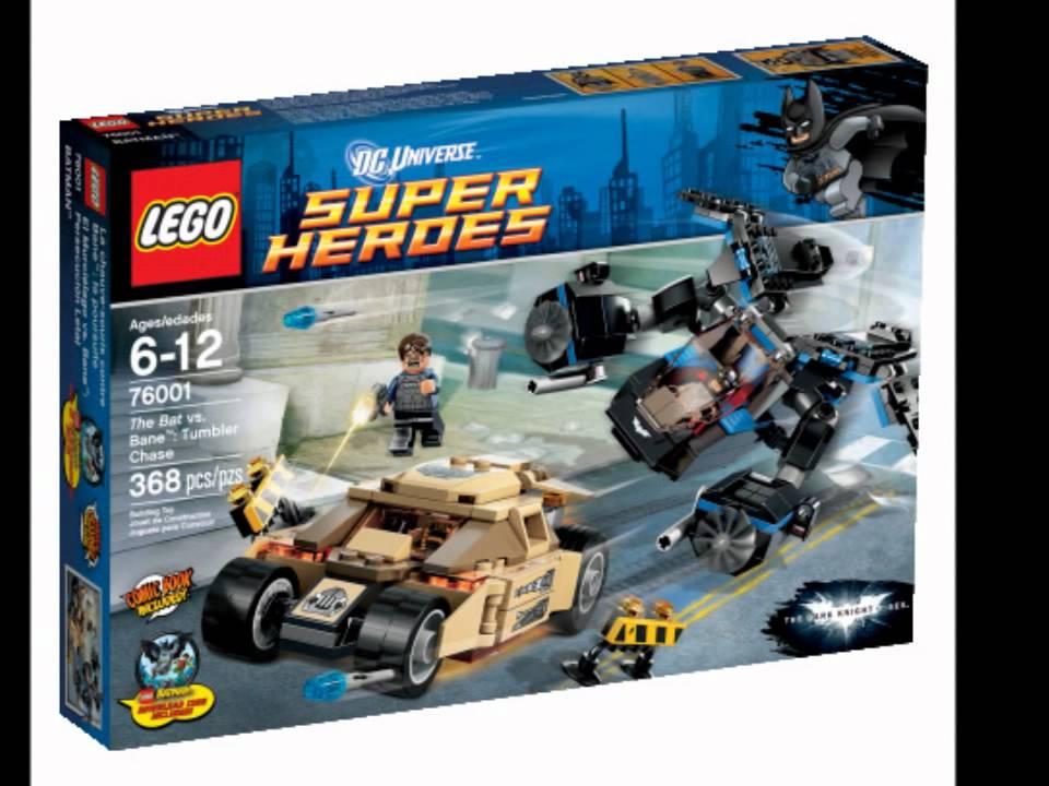Lego Dark Knight Rises Set Picture - YouTube
