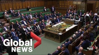 UK MPs stage protest before Parliament is prorogued