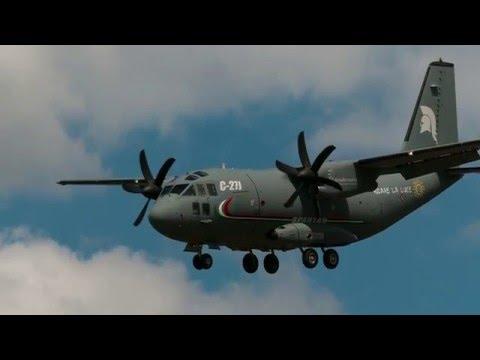 P-3C Orion; 737 AEW&C Wedgetail; C295 AEW; CASA CN235;C-27J Spartan (2009-2011 - RIAT;Paris,Farnb