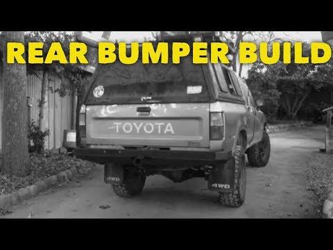 1994 Toyota Pickup Bumper >> Toyota Pickup Rear Bumper Build - YouTube
