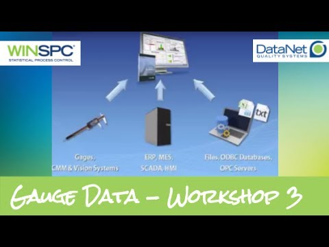 Capturing Data from Various Data Sources - WinSPC Workshop 3