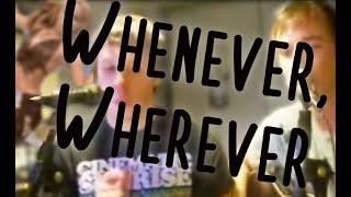 Shakira Whenever Wherever cover
