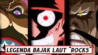 """Siapa Sebenarnya bajak laut ROCKS yang """"Begitu Ditakuti"""" ( One Piece )"""