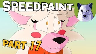 Preview 2! Five Nights at Freddy's (part 17) - Speedpaint Animation! [Tony Crynight]