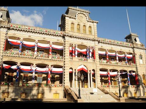 USA Travel - Iolani Palace, Honolulu