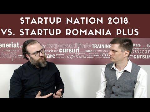 Startup Nation 2018 sau Startup Plus 2018? Cum alegem? Interviu cu Ionut Tata