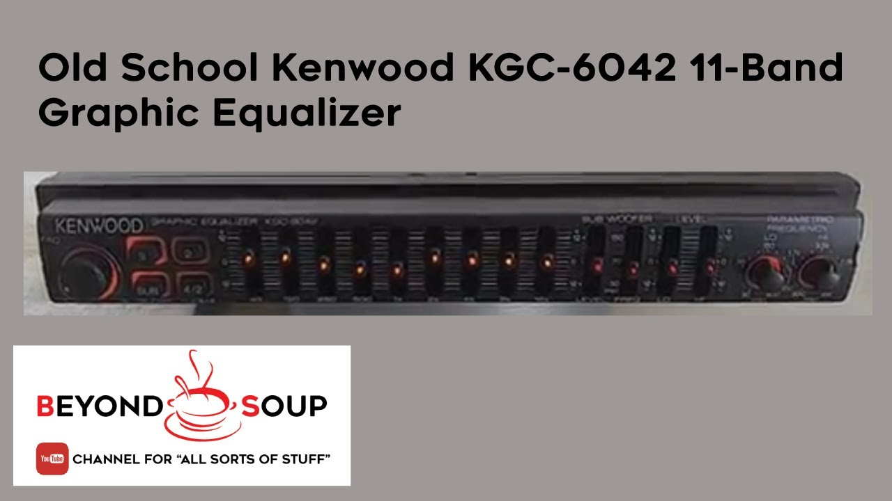 Kenwood Wiring Diagram For Kgc 6042a Diagrams Data Base Ddx418 Old School 6042 11 Band Graphic Equalizer Youtube Rh Com On Lincoln