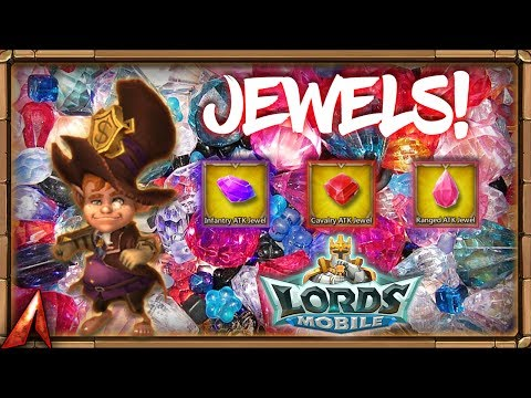 Lords Mobile - Jewels Galore!
