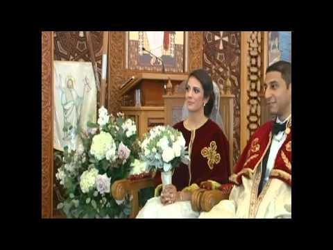Christine Ibrahim & Mario Salama wedding