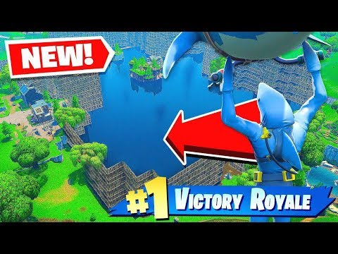 Can You Win WITHOUT LEAVING THE WATER? - Fortnite Battle Royale