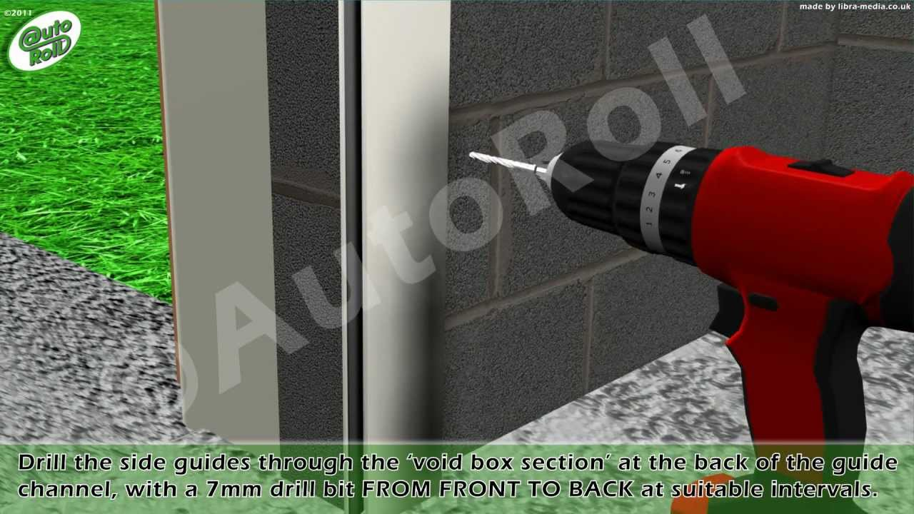 roller shutter installation instructions