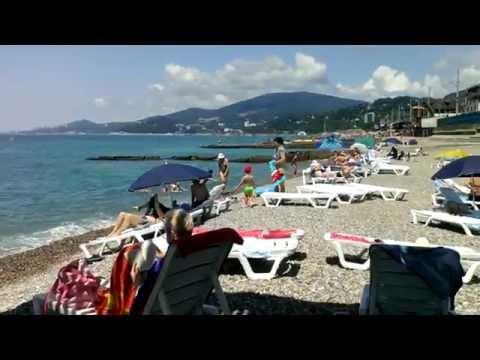 Пляжи Черного моря в Сочи по  просьбам трудящихся