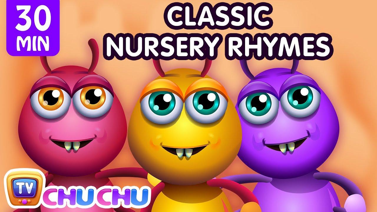 ChuChu TV Classics - Incy Wincy Spider Song + More Popular Baby Nursery Rhymes