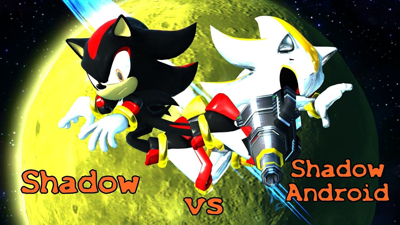 Sonic Generations Pc Shadow Vs Shadow Android Youtube