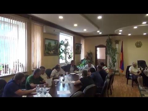 27.08.2018թ Ստեփանավան համայնքի ավագանու նիստ