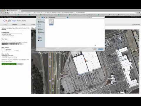 Add a Floor Plan to Google Maps