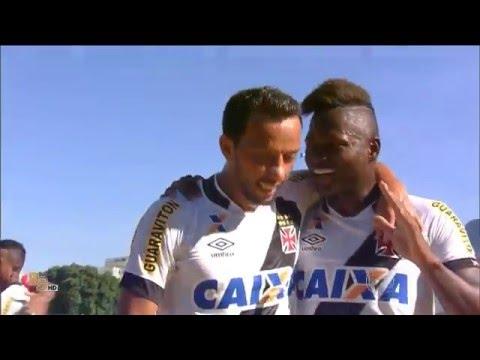 Gols Vasco 4 x 1 Madureira 60 fps - 1ª fase Carioca 2016