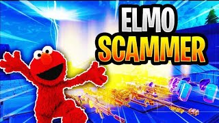 Elmo Scammer Tried To Scam Me! (Scammer Gets Scammed) Fortnite Save The World