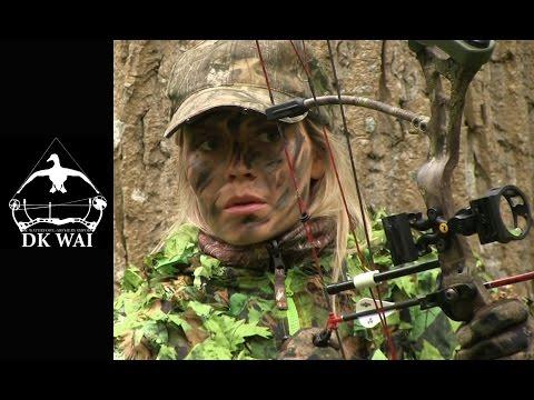 Bukkejagt med bue - Stefanie DK WAI - Buefeber 3 (2) - Bowhunting