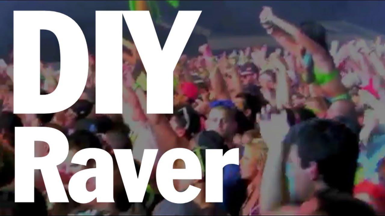 edc diy rave guide electric daisy carnival   threadbanger   youtube