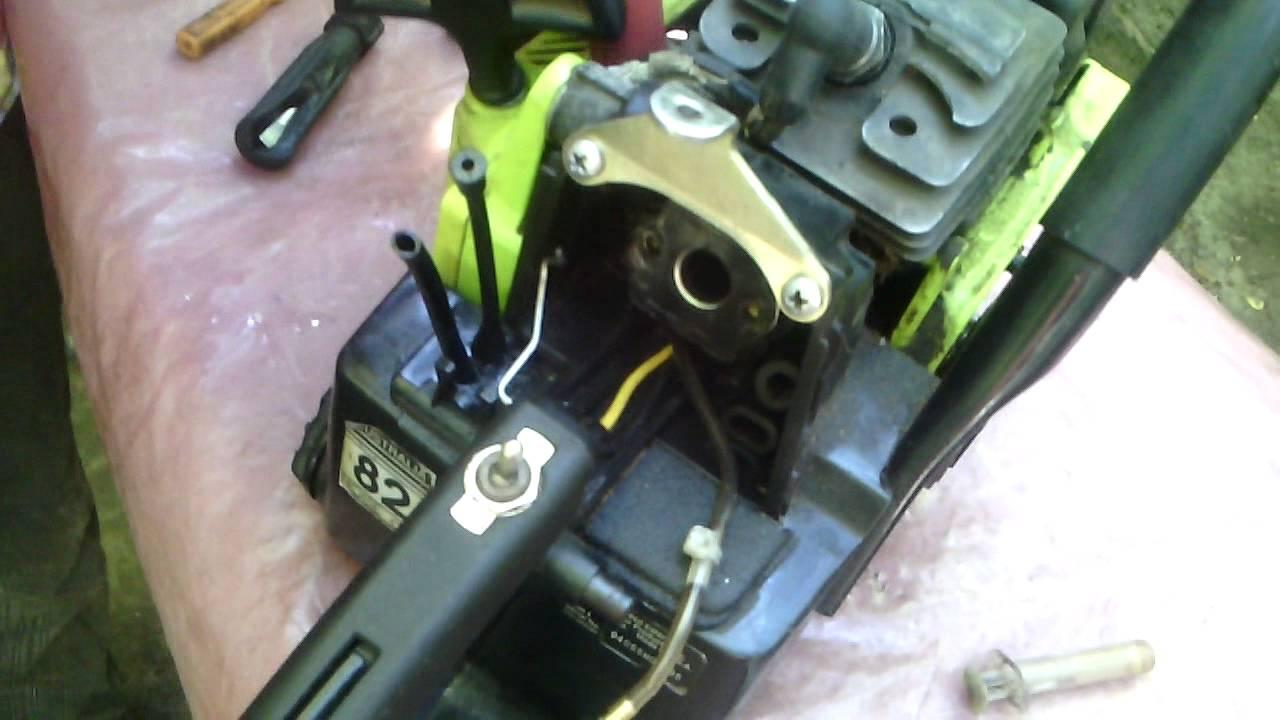смотреть инструкцию по ремонту бензопилы поулан