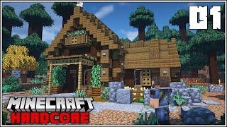 BEST START EVER!!! - Minecraft Hardcore Survival - Episode 1