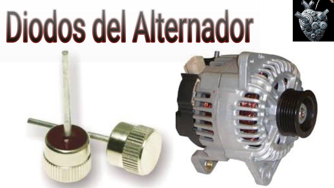 Cómo probar los diodos del alternador (prueba a diodos de potencia)