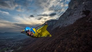 Behind The Scene   Wingsuit Flashed Photo   Tristan Shu Photography