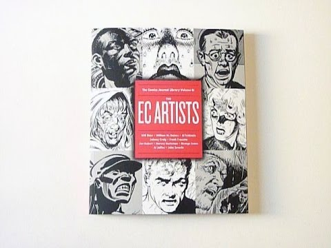 The Comics Journal Library Vol. 8: The EC Artists - video pr