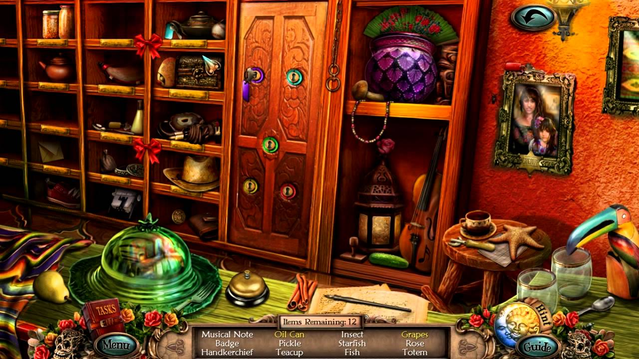 Missing Objects Game