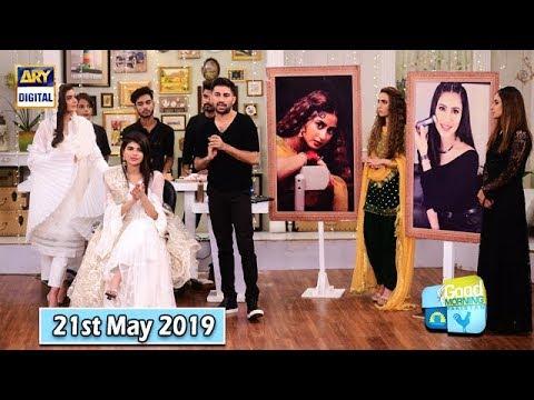Good Morning Pakistan - Makeup Artist Wajid Khan - 21st May 2019 - ARY Digital Show