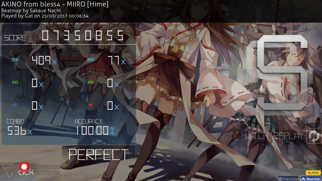 AKINO from bless4 - MIIRO [Hime] | HD SS 5.95★ FC