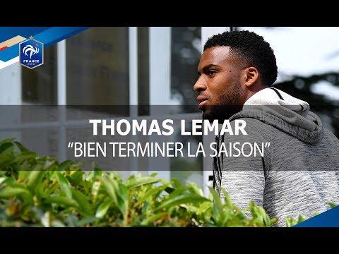 """Thomas Lemar : """"Bien terminer la saison"""""""