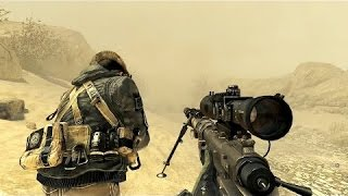VERY BEAUTIFUL SNIPER MISSION from Call of Duty Modern Warfare 2