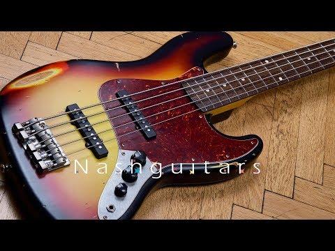 Nash Guitars JB5 Three Tone Burst Review