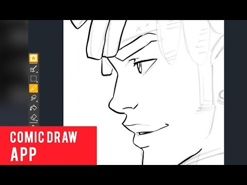 Learning The Comic Draw App Youtube