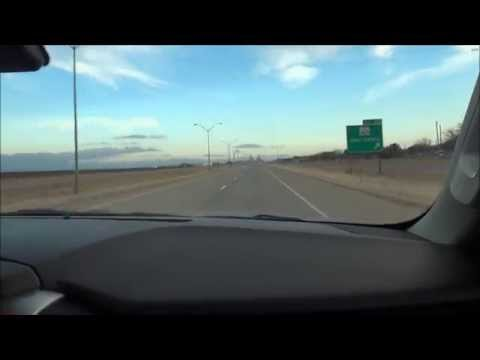 Sony TX20- Road Trip: Amarillo, TX to Lubbock, TX I-27 December 2014