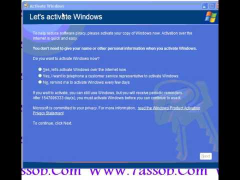 activation windows san programe