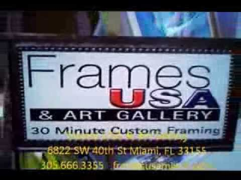 Miami Number 1 Picture Frame Store Youtube