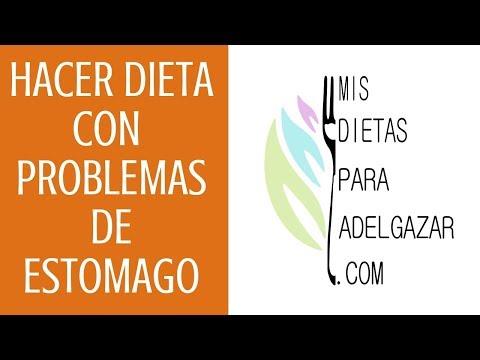 dieta para adelgazar estomago