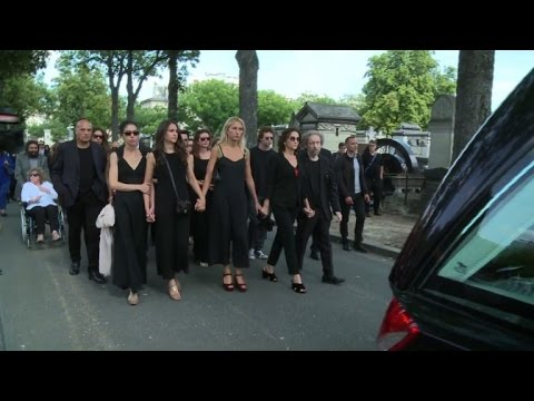 Funeral services for French fashion designer Sonia Rykiel