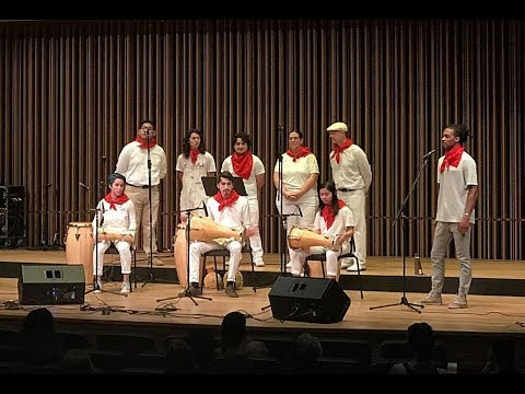Afro-Cuban Percussion Ensemble and Samba School UC Davis