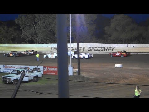 Creek County Speedway 09/01/2018 - Factory Stocks Heat 2