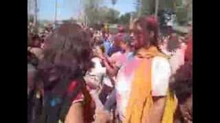 HOLI CELEBRATION AT FREMONT HINDU TEMPLE - GLOBAL DESI WOMEN