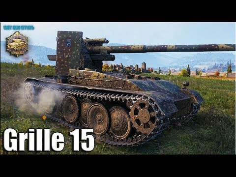 Медаль Пула на Grille 15 ✅ World of Tanks лучший бой