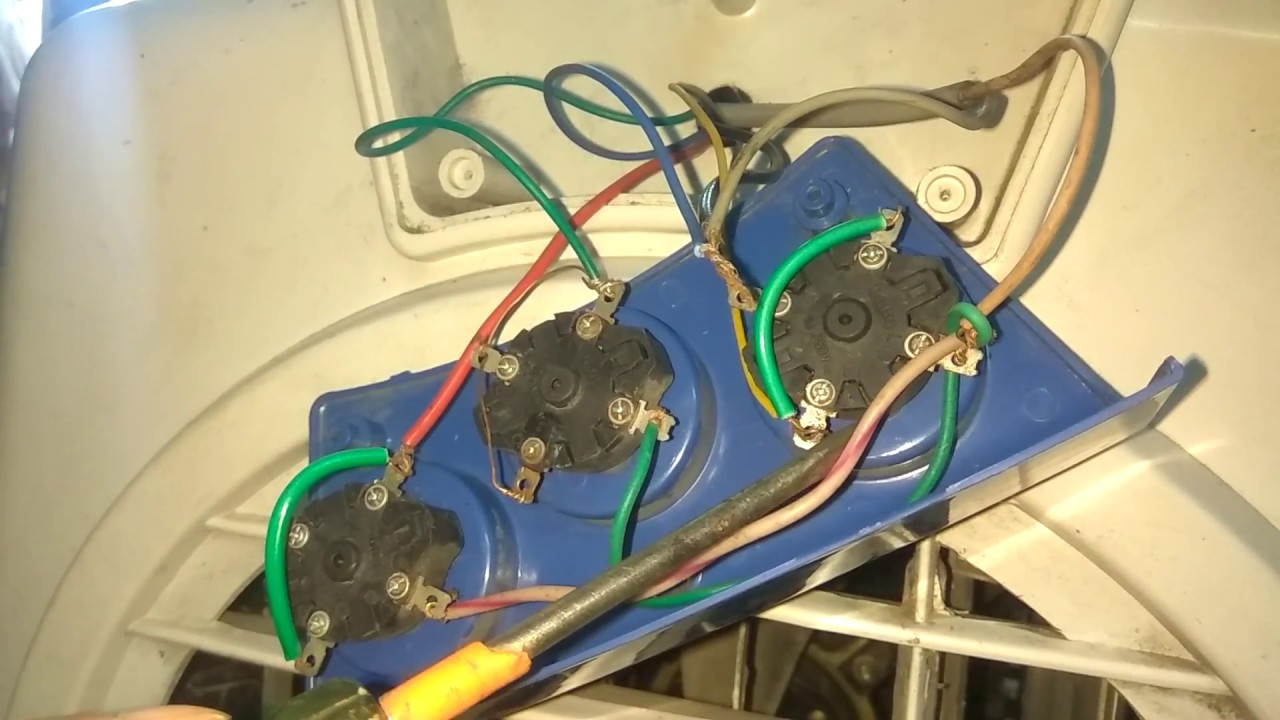 plastic air cooler wiring with 3 rotary switch+2wire of air motor+2wire  swing (urdu, hindi)by israr