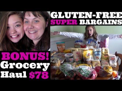 Gluten-Free Super Bargains BONUS $78 Grocery Haul
