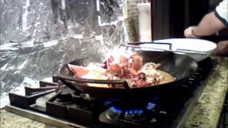 Lobster Cantonese Style Cooking Video (2/2)