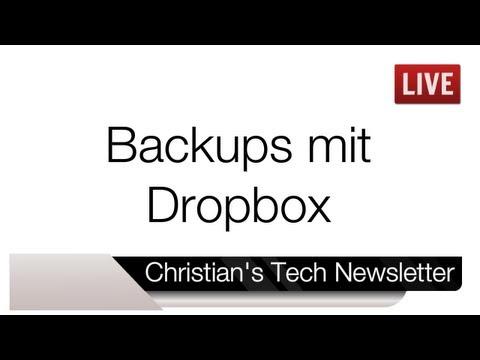 Dropbox als Backup-Lösung   Christian's Tech Newsletter