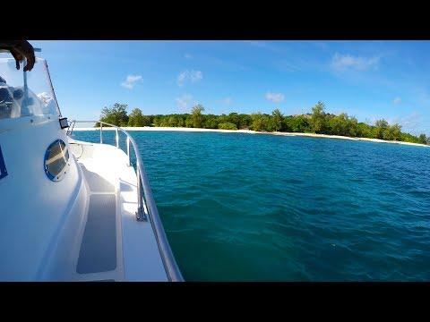 Cousin Curieuse & St. Pierre Island Day Boat Trip Praslin Seychelles Turtles Seychellen 2017 UHD 4k